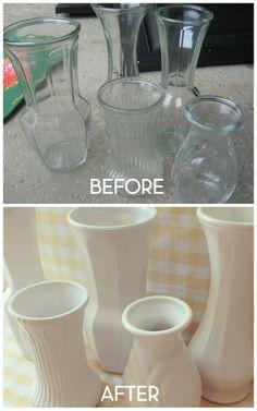 Faux Milk Glass   DiyReal.com