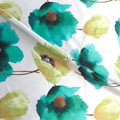 Total Table just released its 2018 Swatch Packet. You will see we've added some fabulous new patterns and colors to our extensive collection such as this beautiful Anthium Teal floral linen. Contact Total Table to get a packet.