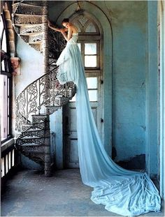 Tim walker photo from Anthropologie