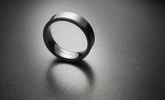 Tungsten Wedding Band - Part of an portfolio for a High Street Jeweller.  Photographed at Studio Sphere in Nelson, Lancashire. www.sewellshouse.co.uk