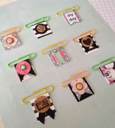Cute paper clips