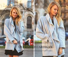 Cozy Oversized Cardigan new in the shop: www.theITem.co