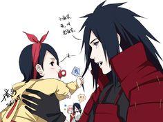 Tags: Fanart, NARUTO, Wallpaper, Haruno Sakura, Uchiha Sasuke, Pixiv, Uchiha Madara, Translation Request, Fanart From Pixiv, Uchiha Clan, Uchiha Sarada, Pixiv Id 7513453