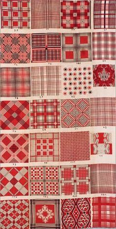 Salesman's Sample of Block-Printed Foulard Designs ~ French (probably Rouen), mid-19th c.