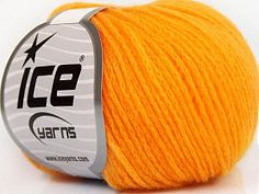 Merino Extrafine Chain Light Orange  Fiber Content 78% Superwash Extrafine Merino Wool, 22% Polyamide, Light Orange, Brand Ice Yarns, fnt2-56629 Ice Yarns, Light Orange, Fiber, Content, Merino Wool, Chain, Amigurumi, Low Fiber Foods, Necklaces