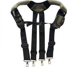 Rooster Products International McGuire-Nicholas Black Label ToolRiderGSX Gelfoam Suspender, BL-30290, Black, Multicolor