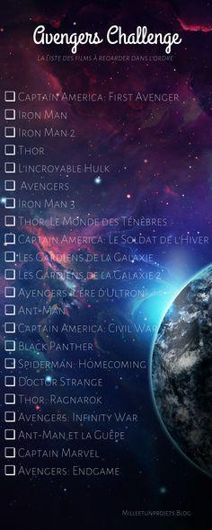 Avengers Challenge