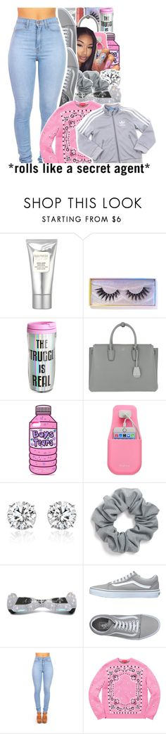"""Untitled #913"" by issaxmonea ❤ liked on Polyvore featuring Laura Mercier, Featherella, JUST DON, MCM, WALL, Natasha, Chanel and Vans"