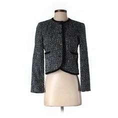 Pre-owned Helene Berman Jacket ($29) ❤ liked on Polyvore featuring outerwear, jackets, black, helene berman and black jacket