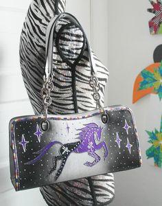 Rez Hoofz Hand Painted Purses by REZHOOFZ on Etsy, $89.95