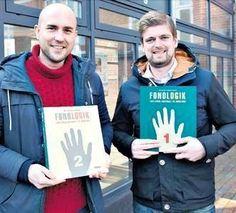 Mikael Højbjerg og Thomas Mose forventer at være klar med den første udgave af deres digitale læringsplatform til ordblinde om et års tid.