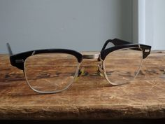 257297b475 Vintage US Optical Shuron Aluminum 12k Gold Filled Ronsir Escapades Eyeglasses  Frames
