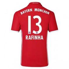 Bayern München 16-17 Rafinha 13 Hemmatröja Kortärmad  #Fotbollströjor