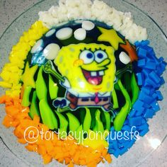 Gelatina 3D Bob esponja jelly bob sponge squarepants