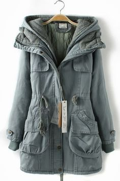 Comfy Hooded Casual Jacket