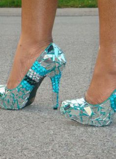"""""""ICE"""",  Shoes, unique chic custom fashion style, Chic"""