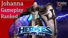 Heroes of the Storm - Johanna Ranked Gameplay (HotS Hero League)