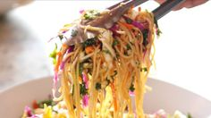 Asian Noodle Salad - would alter dressing ingredients. Too much sesame oil/tasted very heavy.