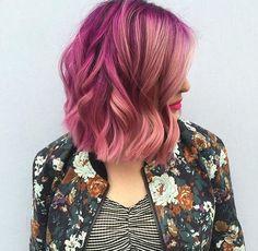 Warm pink tones