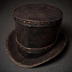 Steampunk Victorian Top Hat Tophat Men Women by SteampunkHatMaker