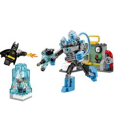 12.59$  Buy now - http://alipix.shopchina.info/go.php?t=32799712297 - LEPIN Batman Series Mr. Freeze Ice Attack Building Blocks Bricks Movie Model Kids Toys Marvel Compatible Legoe 12.59$ #bestbuy