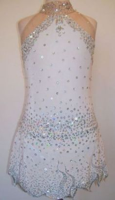 Figure Ice Skating dress/Twirling/Dance Made to Fit in Sporting Goods, Ice Skating, Clothing | eBay