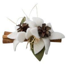 Cannella con due fiori