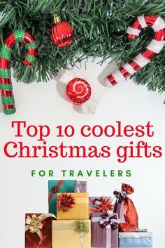 Christmas gifts for travelers | cool christmas gifts 2017 | ideas for christmas gifts | present ideas for christmas |