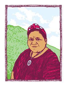 Rigoberta Menchu (2009)   Dignidad Rebelde Violation Of Human Rights, Ap Spanish, Eighth Grade, Anthropology, Beautiful Creatures, Self Help, Screen Printing, Literature, Culture