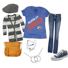Thunder Up! by underheavensskies on Polyvore