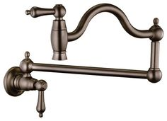 Find a wide range of Pot Filler Kitchen Faucets from Wall Mount Pot Fillers to Bronze ones. MainFaucet is your solution for Faucets & Fixtures. Kitchen Ideas New House, House Ideas, Black Kitchen Faucets, Bronze Kitchen, Pot Filler Faucet, Bathroom Fixtures, Bathroom Hardware, Oil Rubbed Bronze, Wall Mount