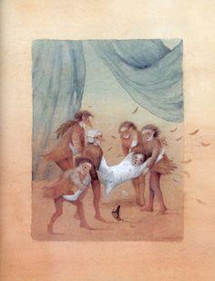 Das häßliche Entlein (The Ugly Duckling)/ Hans Christian Andersen/ Gerstenberg, 1998. Illustrator:  Kaarina Kaila