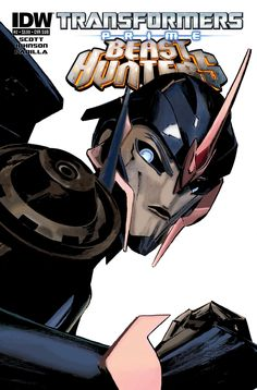 Transformers Prime: Beast Hunters #2 Arcee