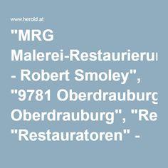 """""""MRG Malerei-Restaurierung - Robert Smoley"""", """"9781 Oberdrauburg"""", """"Restauratoren"""" - HEROLD.at"""