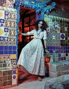 #VogueJapan [] July 2014 [] Malaika Firth [] by Emma Summerton  [Editorial Fashion]