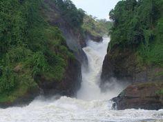 Uganda, cascades Murchison (seguint el curs del Nil)