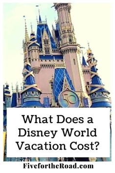 Disney Vacation Cost for a Family of Five - Family of Five Family Travel Disney World Tickets, Disney World Hotels, Walt Disney World Vacations, Disney World Tips And Tricks, Disney Tips, Get Away Today, Disney On A Budget, Family Of Five, Family Travel