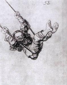 Goya - a sinister version of Fragonard's swing!