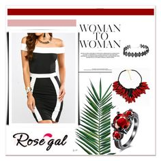 """""""Rosegal"""" by mayabee88 ❤ liked on Polyvore featuring Nika and vintage"""