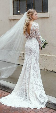 romantic bridal gowns vintage with long sleeves lace daalarna couture