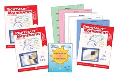 RightStart™ Mathematics Level A Second Edition Book Bundle - RightStart™ Mathematics by Activities for Learning Right Start Math, Place Value Cards, Basic Geometry, Subitizing, Teaching Time, Math Class, Math Skills, Maths, Addition And Subtraction