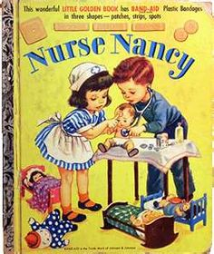 My all-time favorite Golden Book.  It even came with cute band-aids.