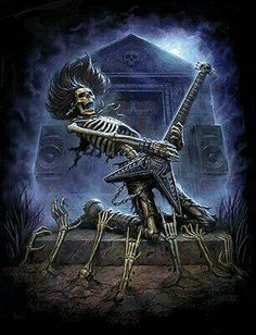 Rocking Skeleton