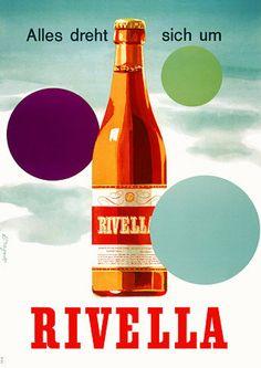 Everything revolves around Rivella    https://www.vintagevenus.com.au/vintage/reprints/info/D331.htm