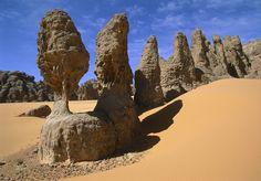 Karnasai Valley, Sahara Desert, Chad