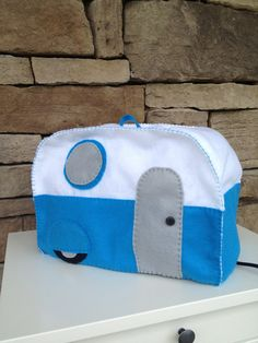 Retro Camper Toaster Cover by That's Sew Rad! And it is so rad! via
