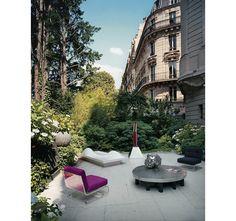 Chic à la parisienne, terrasse