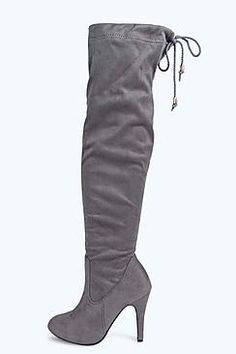 Alice Stretch Over Knee Pointed Boot