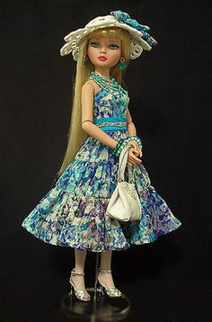 OOAK Summer Fashion by WS Fits Ellowyne Wilde by Tonner Co | eBay. Sold for $69.98 on 6/12/14.