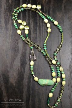 Sexy long multi gemstone necklace available athttps://www.veronicawillingham.com/collections/veronica-willingham-resort-2017/products/multi-gemstone-extra-long-necklace?variant=35232032067... ONE-OF-A-KIND! DON'T MISS OUT!!!